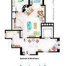 Jack McFarland's apartment form 'Will and Grace' by Iñaki Aliste Lizarralde