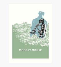 Modest Mouse Bottle Art Print