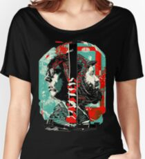 Black Keys Faces Women's Relaxed Fit T-Shirt