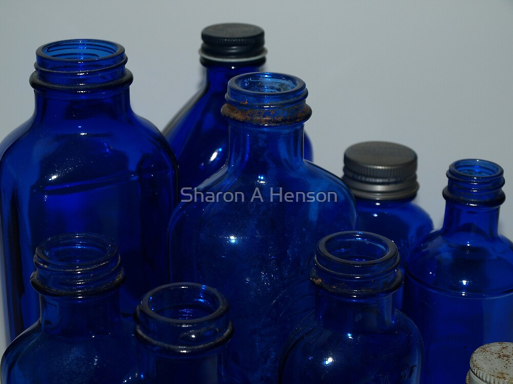 BLUE by Sharon A. Henson