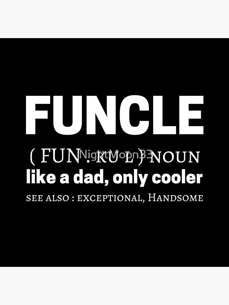 Funcle Meme Quotes Dictionary Definición Significado Bolsa De Tela