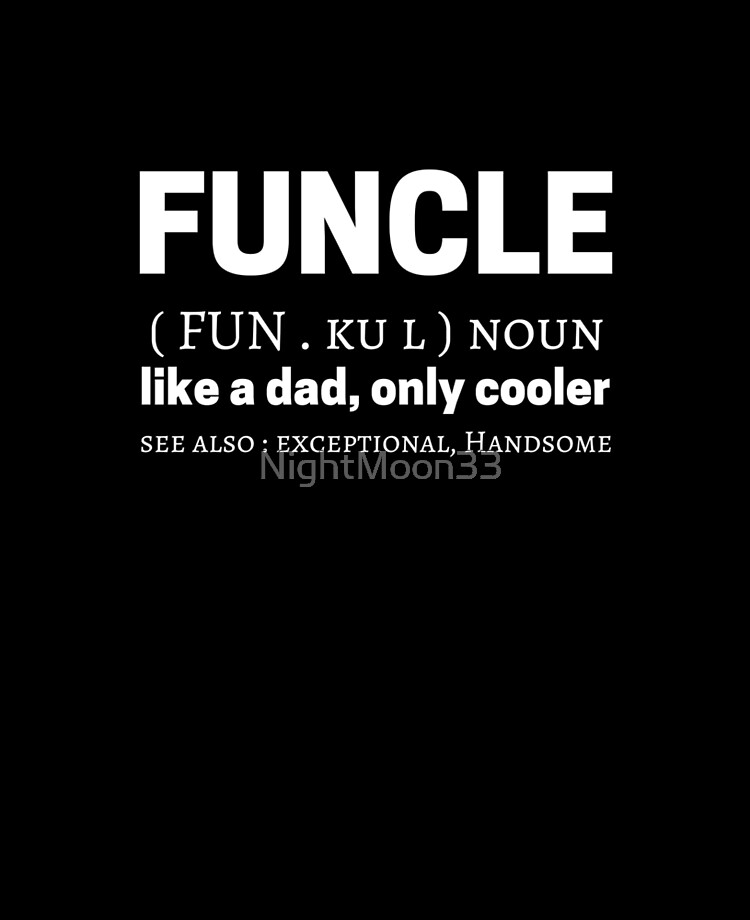 Funcle Meme Quotes Dictionary Definición Significado Funda Y Vinilo Para Ipad