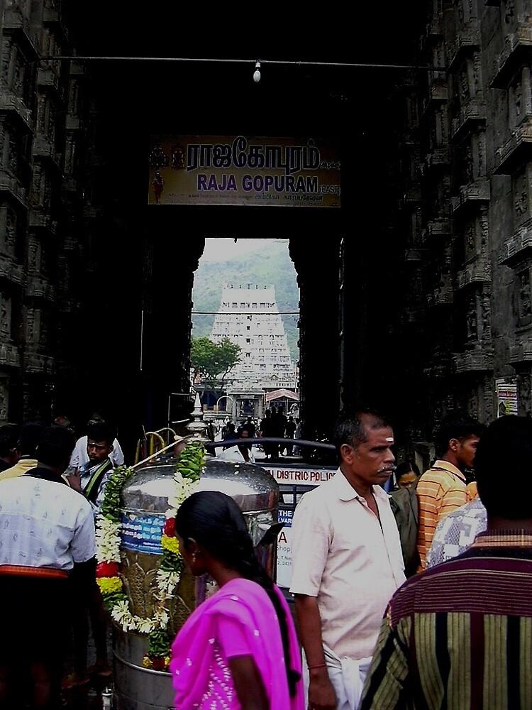 raja kopuram by pugazhraj