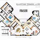 Frasier Apartment Floorplan by Iñaki Aliste Lizarralde