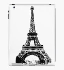 Eiffel Tower Digital Engraving iPad Case/Skin