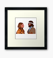 The Royal Tenenbaum - Margot and Richie  Framed Print