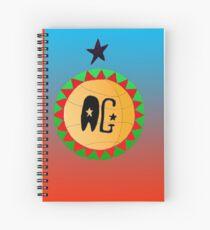 Basketball AG design Spiral Notebook