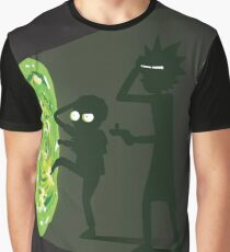 Rick and Morty - Portal Travel Graphic T-Shirt