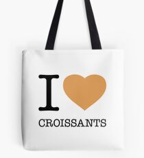 I ♥ CROISSANTS Tote Bag