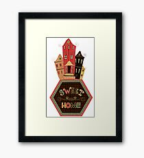 sweet home Framed Print