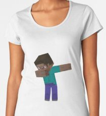 Minecraft Dab!!! Women's Premium T-Shirt