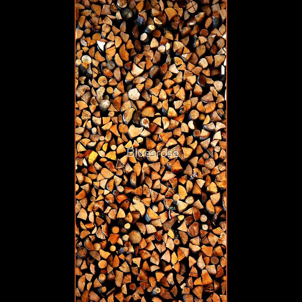 Woodpile by Bluesrose
