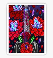 Fusion Keyblade Guitar #98 - Oblivion & Divine Rose Sticker