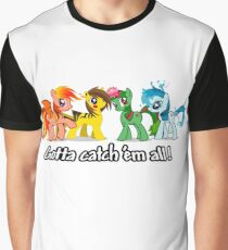 Gotta Cath 'em All - Poke Pony Graphic T-Shirt