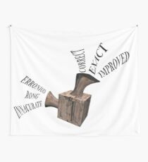 Spellchecking / proofreading machine Wall Tapestry