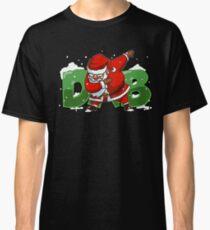 Dabbing Santa Christmas Tshirt Gift Dab Santa Claus T-Shirt Classic T-Shirt