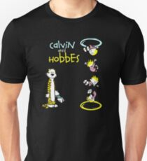 Calvin and Hobbes Portal Unisex T-Shirt