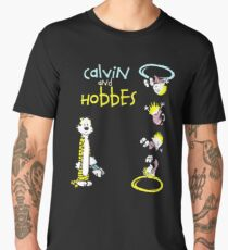 Calvin and Hobbes Portal Men's Premium T-Shirt