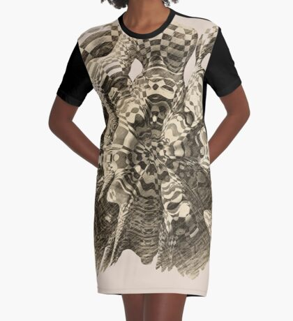 Extraterrestrial Portal appears Graphic T-Shirt Dress