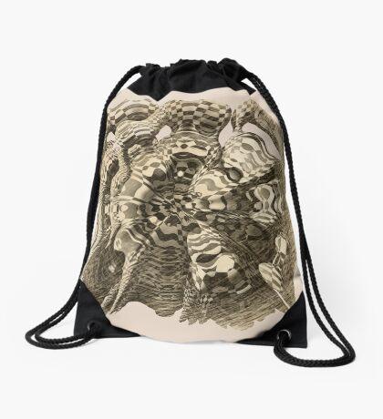 Extraterrestrial Portal appears Drawstring Bag
