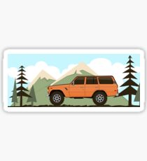 Fj60 Land Cruiser Sticker