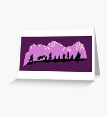 Fellowship in the morning Greeting Card