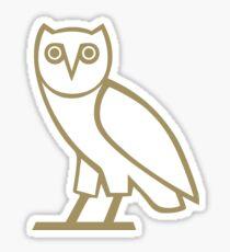 OVO Owl Gold (Black) Sticker