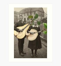 PAIR OF PEARS Art Print