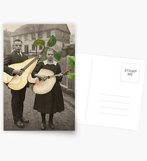 PAIR OF PEARS Postcards