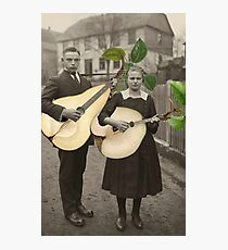 PAIR OF PEARS Photographic Print
