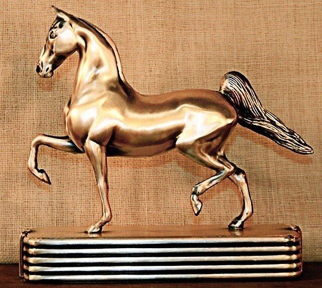 Metal Saddlebred by denise romano
