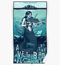 Art The Avett Brothers San Diego Civic Theatre,  San Diego, CA Poster