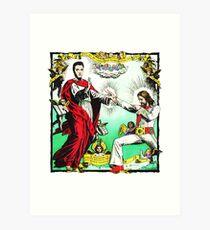 Jesus and Elvis Art Print