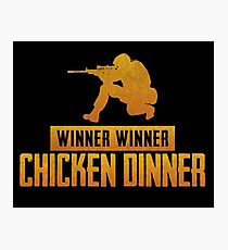 Pubg Chicken Dinner Photographic Print