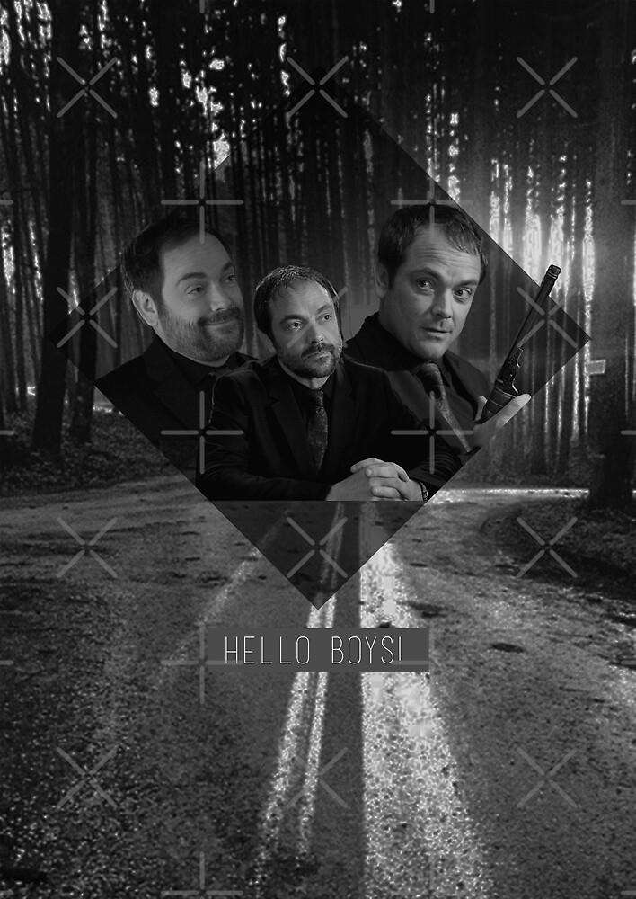 Supernatural - Crowley by hiamlua