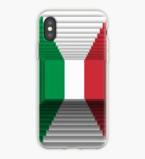 Italian flag 3d 3 iPhone Case