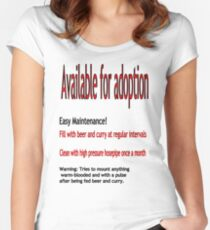 Adoption Candidate Women's Fitted Scoop T-Shirt