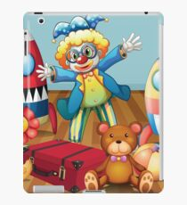 Clown And Toys iPad Case/Skin