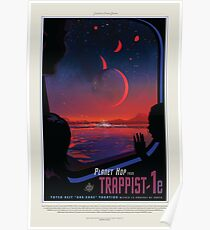 Trappist 1e, Reiseplakat Poster