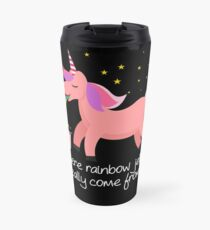 Unicorn Barf: Where Rainbow Jellies Really Come From Travel Mug