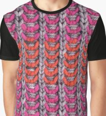 Neon Mikkey Knit Graphic T-Shirt