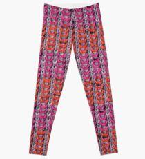 Neon Mikkey Knit Leggings