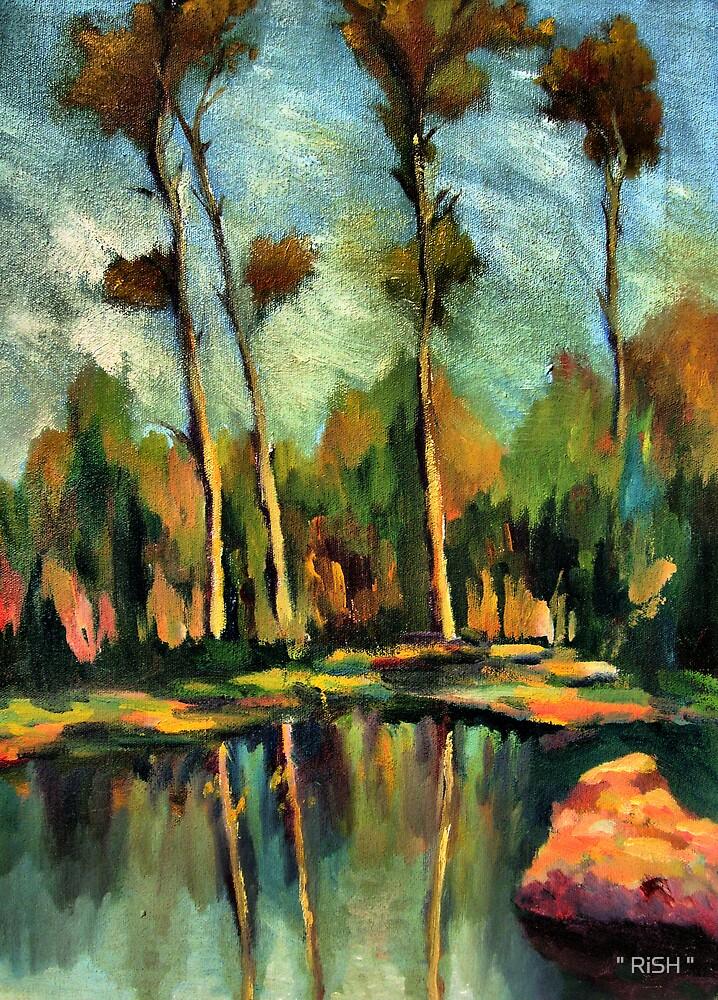 """Jungle reflection by """" RiSH """""""