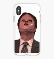 Vinilo o funda para iPhone Dwight Schrute - Máscara para la piel