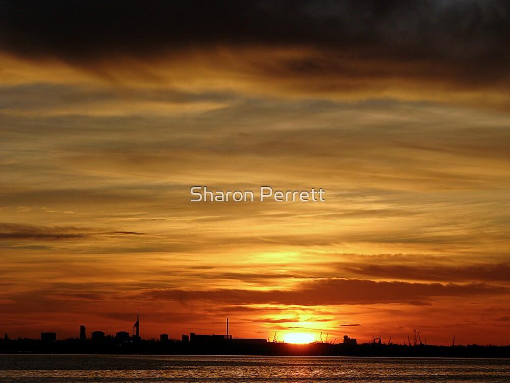 Sunset 2 19-11-08 by Sharon Perrett