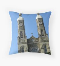 Drive By Prayer Throw Pillow