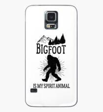 Bigfoot Is My Spirit Animal - Vintage Style Sasquatch Case/Skin for Samsung Galaxy