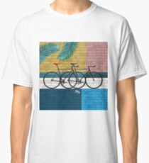 bicycle in composition Classic T-Shirt