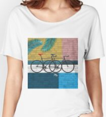 bicycle in composition Women's Relaxed Fit T-Shirt
