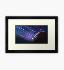 Asteroids Framed Print